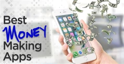money making apps  iphone android phones