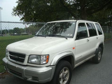 buy used 1999 isuzu trooper s sport utility 4 door 3 5l 4wd oct inspection in hershey