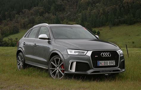 Audi Rs Q3 by 2017 Audi Rs Q3 Performance Review More Punch More Pace