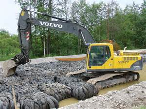 Volvo Excavators File Volvo Excavator Finland Roadwork Jpg