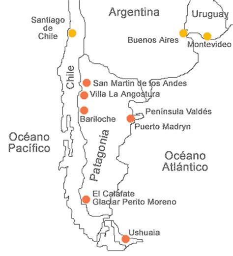 patagonia argentina el calafate ushuaia puerto madryn