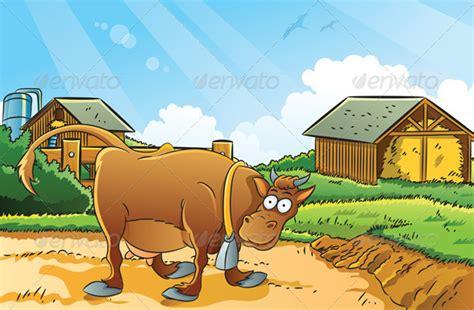 wallpaper animasi sapi kumpulan gambar peternak sapi kartun picture cow cartun