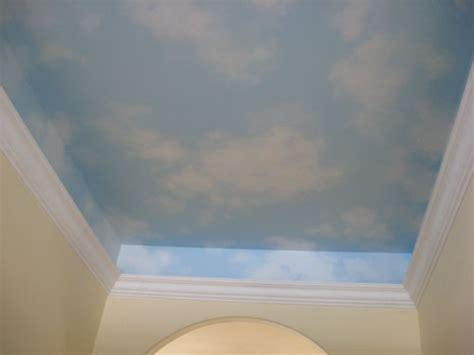 sky ceiling mural zieve studios murals