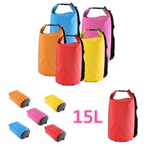 15l Drybag Square 15l waterproof bag sack for cing hiking canoe kayak swim rafting alex nld