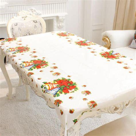 new year table cloths 1pc 110x180cm rectangular disposable table cloth
