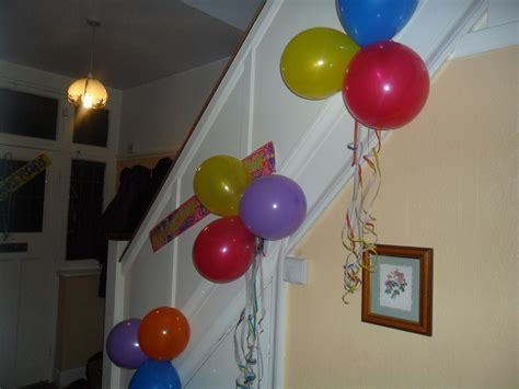birthday decorations for husband at home a family birthday and a special cake not just greenfingers