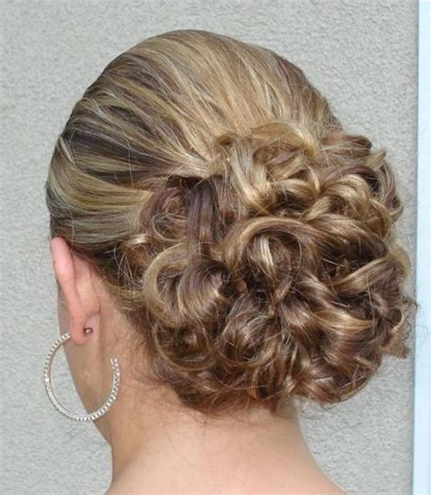 simple bridal updo wedding hairstyle photo jpg