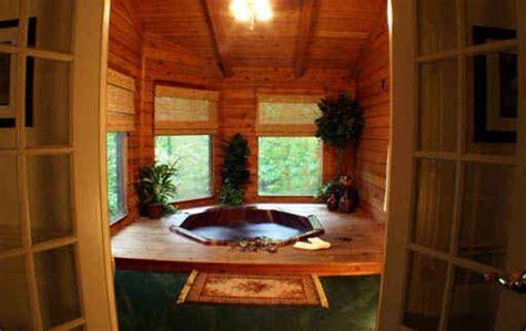 Log Cabin With Indoor Tub by Indoor Tub Log Cabin Lovin
