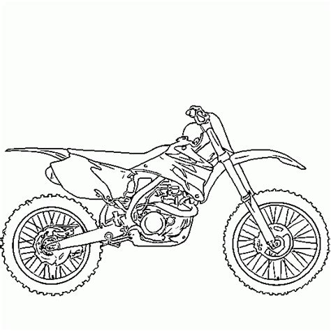 free motorcycle coloring pages to print free coloring pages of bmw dirt bikes