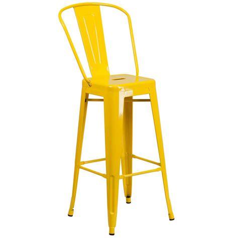 flash furniture 30 25 in yellow bar stool ch3132030gbyl