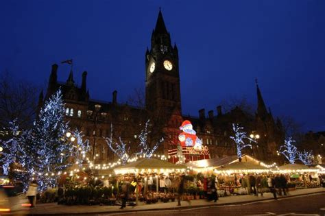 manchester s christmas market named as the best in uk