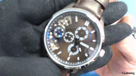 Fossil Me1123 мъжки часовник fossil dress leather me1123