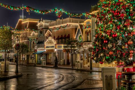 merry christmas city wallpapers onehdwallpapers com