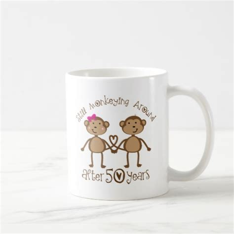 50th Wedding Anniversary Gift by 50th Wedding Anniversary Gifts Classic White Coffee Mug