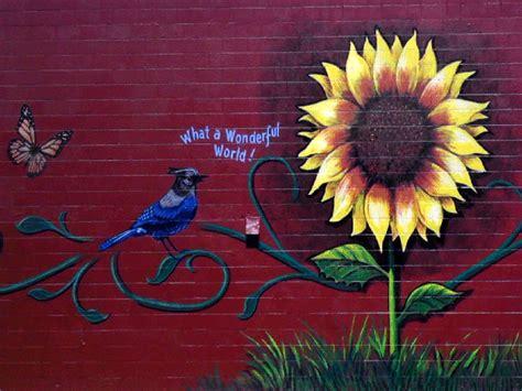Sunflower Wall Murals image gallery sunflower murals