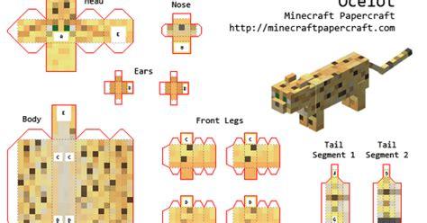 Animals Coelacanth Miniature Papercraft paper craft new 996 minecraft papercraft mini animals