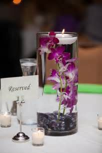 diy submerged orchid centerpiece with floating candle weddingbee photo gallery