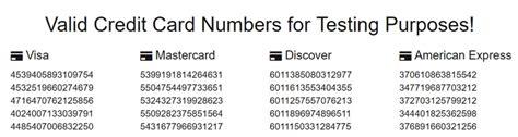Free Valid Visa Gift Card Numbers - free credit card numbers that work 2017 visa infocard co