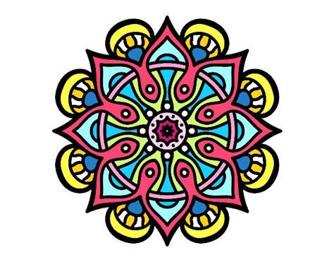 imagenes mandalas arabes dibujo de mandala mundo 225 rabe pintado por en dibujos net