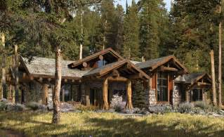 Rustic Log Home Plans by Green Design Archives The Log Home Floor Plan Blog