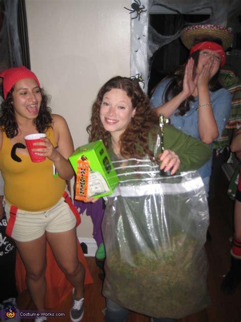bag  weed costume photo