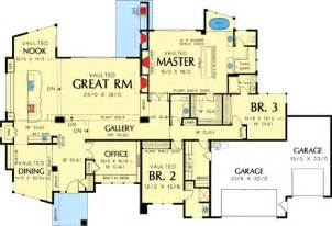 Floor Plans For Homes One Story Contemporary One Story House Plans Single Story Modern