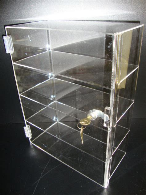 Acrylic Countertop Displays by Acrylic Countertop Display 12 Quot X 6 Quot X 16 Quot Locking