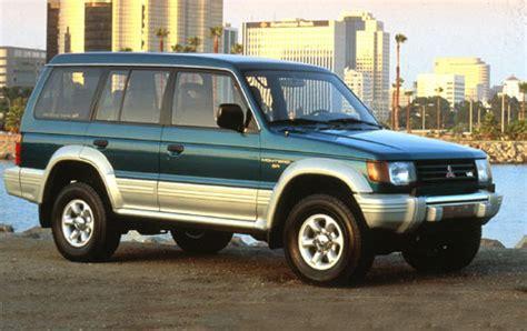 old car repair manuals 1996 mitsubishi montero seat position control 1990 mitsubishi montero user reviews cargurus