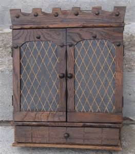 wooden spice rack cabinet free standing with doors drawer 2