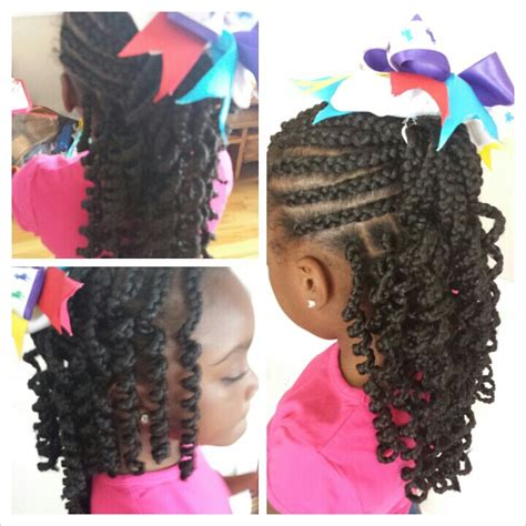 Little Girl Braid Hairstyles With Weave   Immodell.net