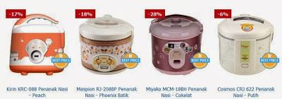 Magic Jar Maspion harga penanak nasi maspion miyako cosmos kirin toko