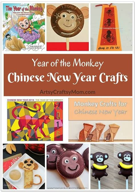 new year monkey activities 100 best images about new year asian crafts for