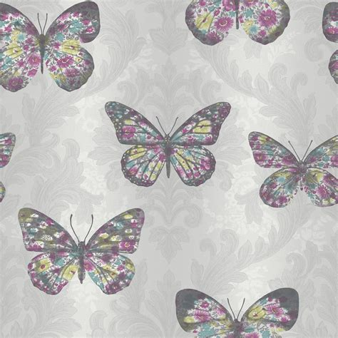 Glitter Wallpaper Wilkinsons | arthouse midsummer wallpaper dove multi at wilko com