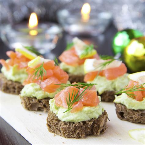 toast canapes luxurious appetizers youne
