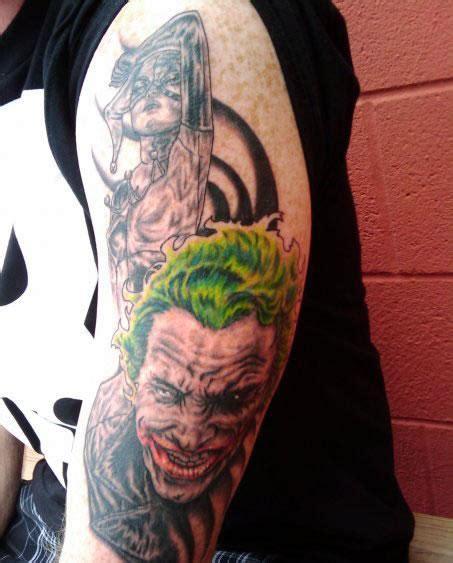 joker harley quinn tattoo 40 harley quinn sleeve tattoos