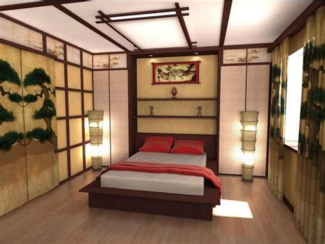 traditional japanese bedroom colorful japanese bedroom style with big mirror