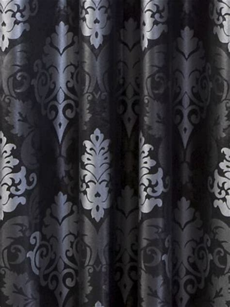 charcoal damask curtains beasleyandhenley black and silver damask curtain against