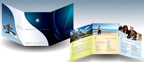 corporate tri fold brochure template 20 simple yet beautiful brochure design inspiration