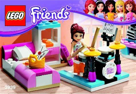 Star Wars Bedroom Set Lego Mia S Bedroom Instructions 3939 Friends