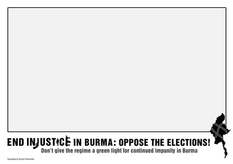 injustice card template burma partnership 187 end injustice in burma oppose the
