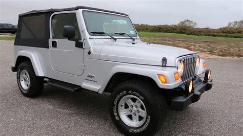 lj jeep for sale 2006 jeep wrangler lj unlimited for sale 1 owner low