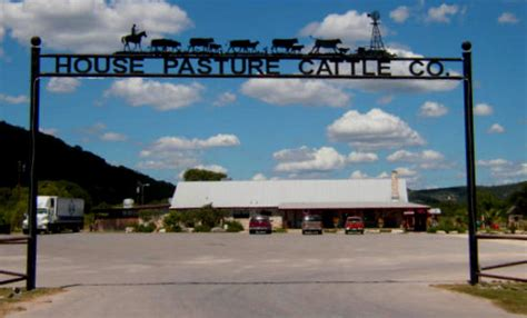 House Pasture Cattle Company In Concan Is Entertainment Central During The Summer