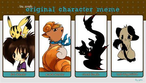Original Character Meme - image gallery original character meme