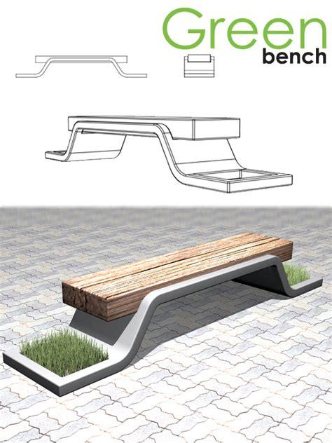 designboom benches green bench designboom com