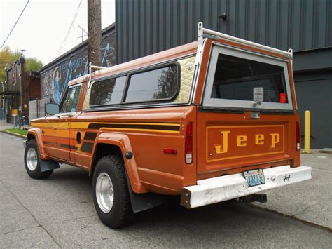 jeep honcho seattle s parked cars 1979 jeep j10 honcho