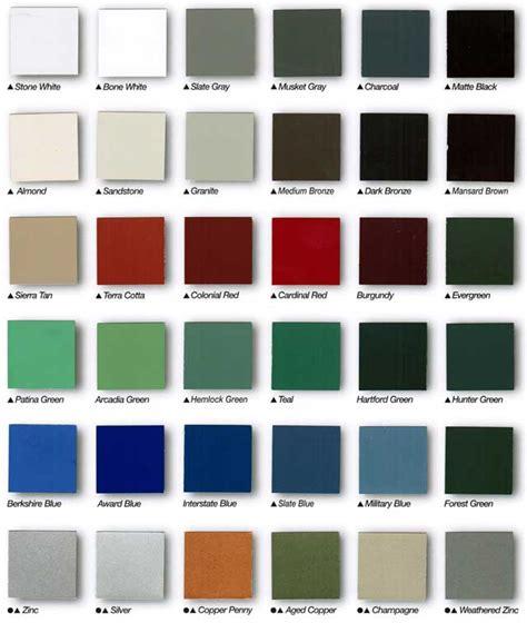 zinc color gutters colors aluminum regular downspouts gutter supply