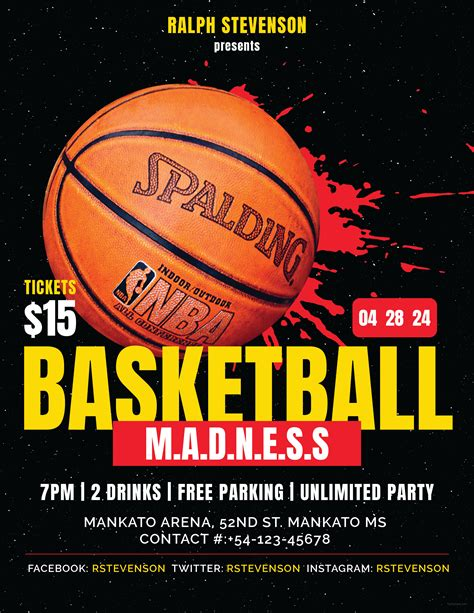 ffflyer download the best basketball flyer templates for photoshop