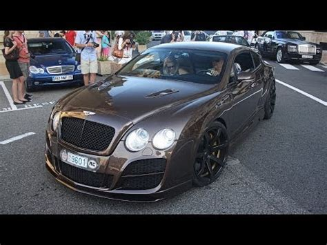 bentley monaco rare bentley continental gt by tc concepts spotted in