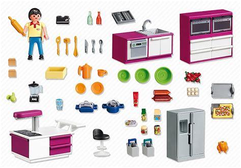 cuisine playmobil 5582 cuisine avec 238 lot de playmobil
