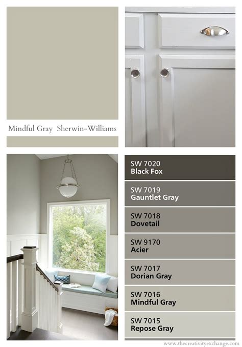 sherwin williams sherwin williams mindful gray color spotlight